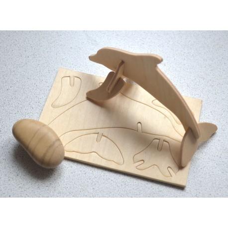 """Конструктор для детей из подарочного набора Play Plan Box """"Морской"""""""